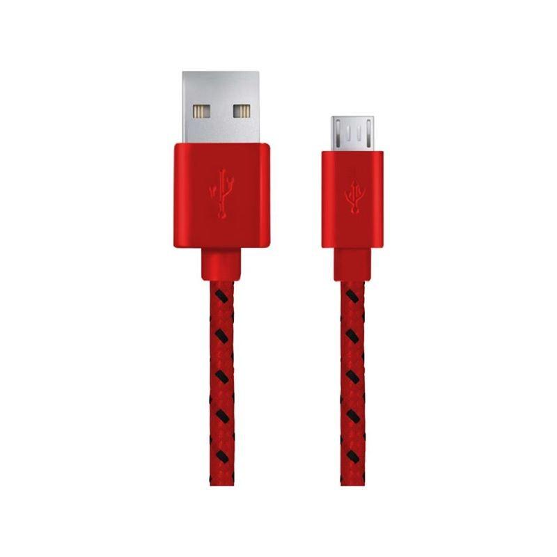 Kindle USB csatlakozó fonott piros
