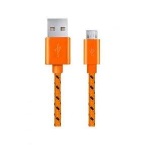 Kindle USB csatlakozó fonott narancssárga