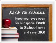 Tartsa a szemeit az Iskolakezdési termékeinken és spóroljon!